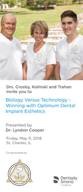 2018 Seminar – Biology Versus Technology – Winning with Optimum Dental Implant Esthetics Document
