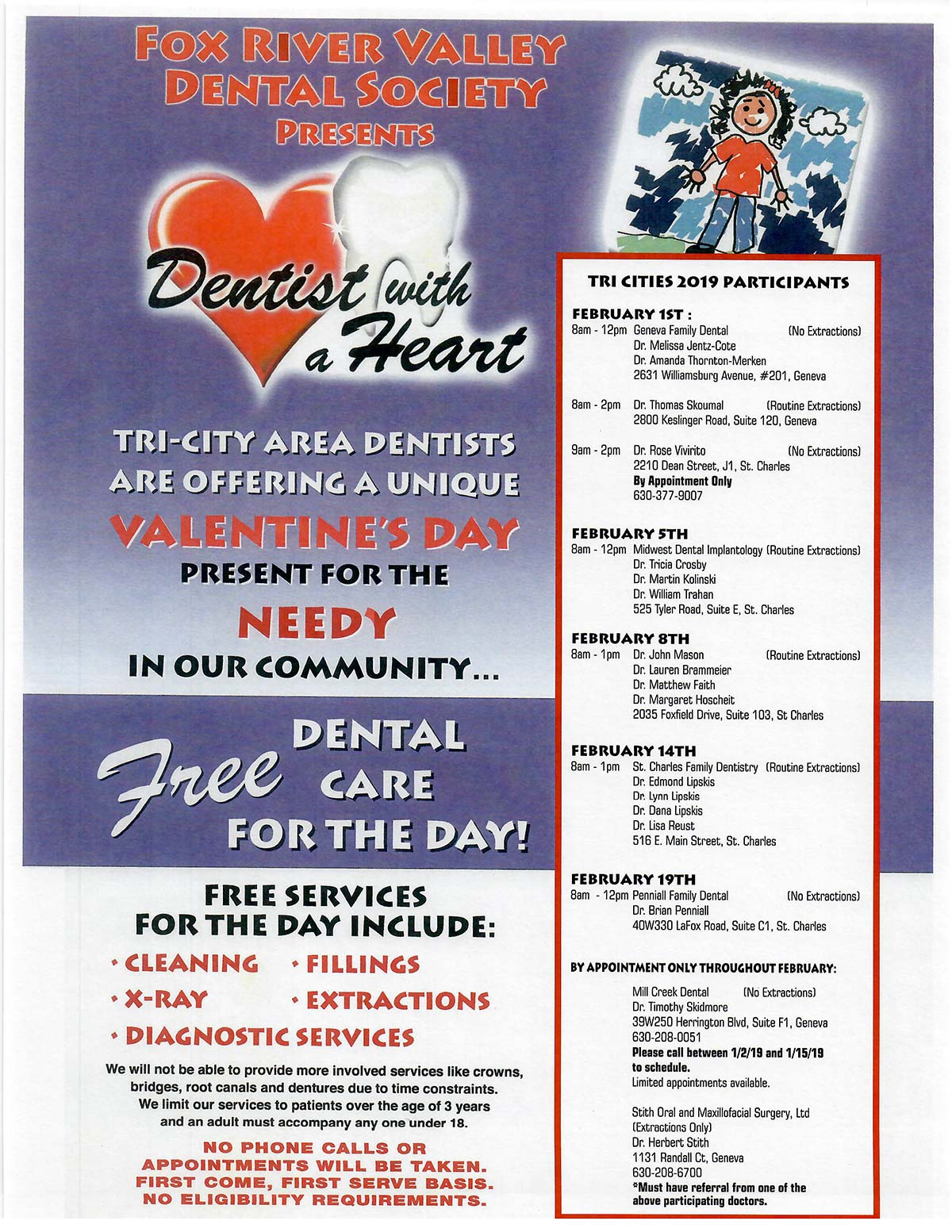 Dentist with a Heart Flyer