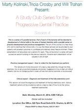 Progressive Dental Practice Study Club Document