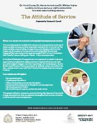 2019 Winter Seminar – The Attitude of Service Document