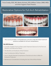 2019 Fall Dental Hygiene Seminar – Restorative Options for Full-Arch Rehabilitation Document