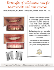 Referring Dentist Fall 2016 Seminars Document